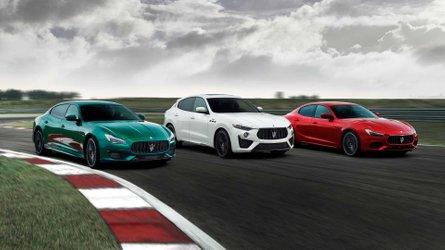 Maserati Ghibli Trofeo and Quattroporte Trofeo get Ferrari V8 power