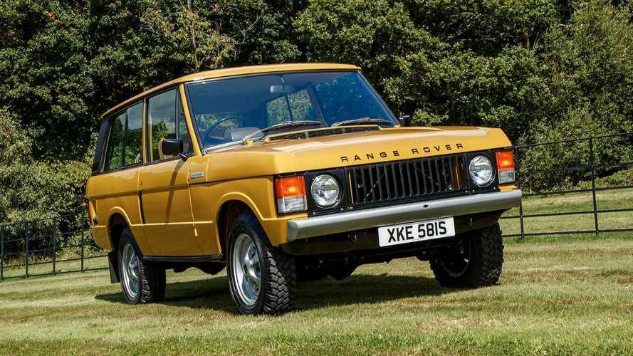 Retour en image sur 50 ans de Range Rover