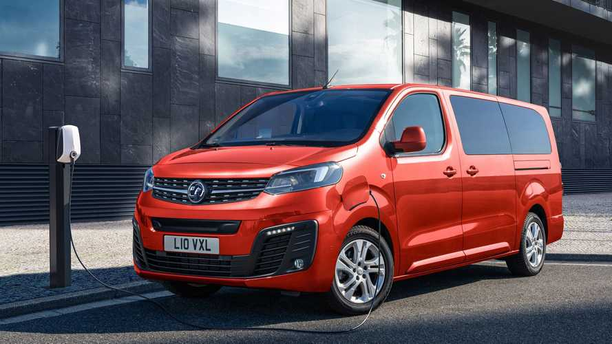 Vauxhall launches electric Vivaro-e Life people carrier