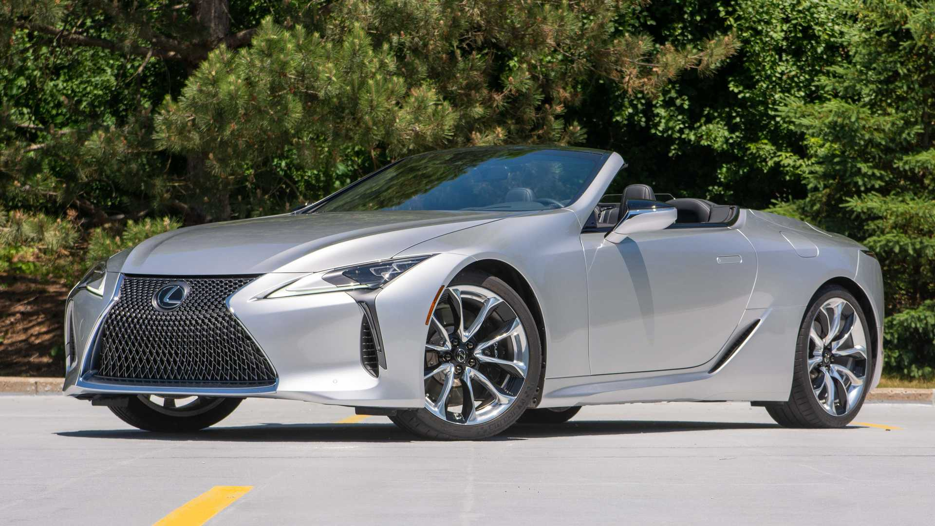 2021 Lexus Lc 500 Convertible First Drive Review It S A Natural
