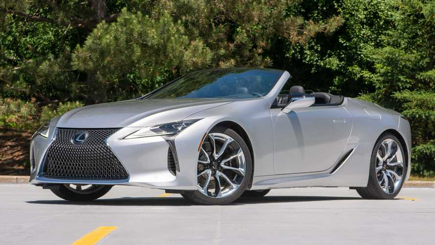 Lexus LC 500 Convertible 2021: First Drive