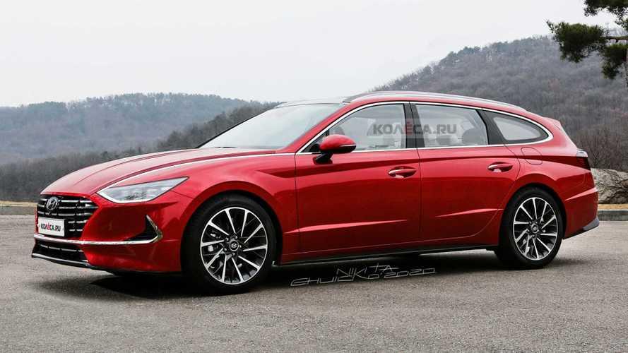 2020 Hyundai Sonata Wagon Rendering Has Us Craving Practical Style