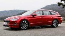 2020 Hyundai Sonata SW render