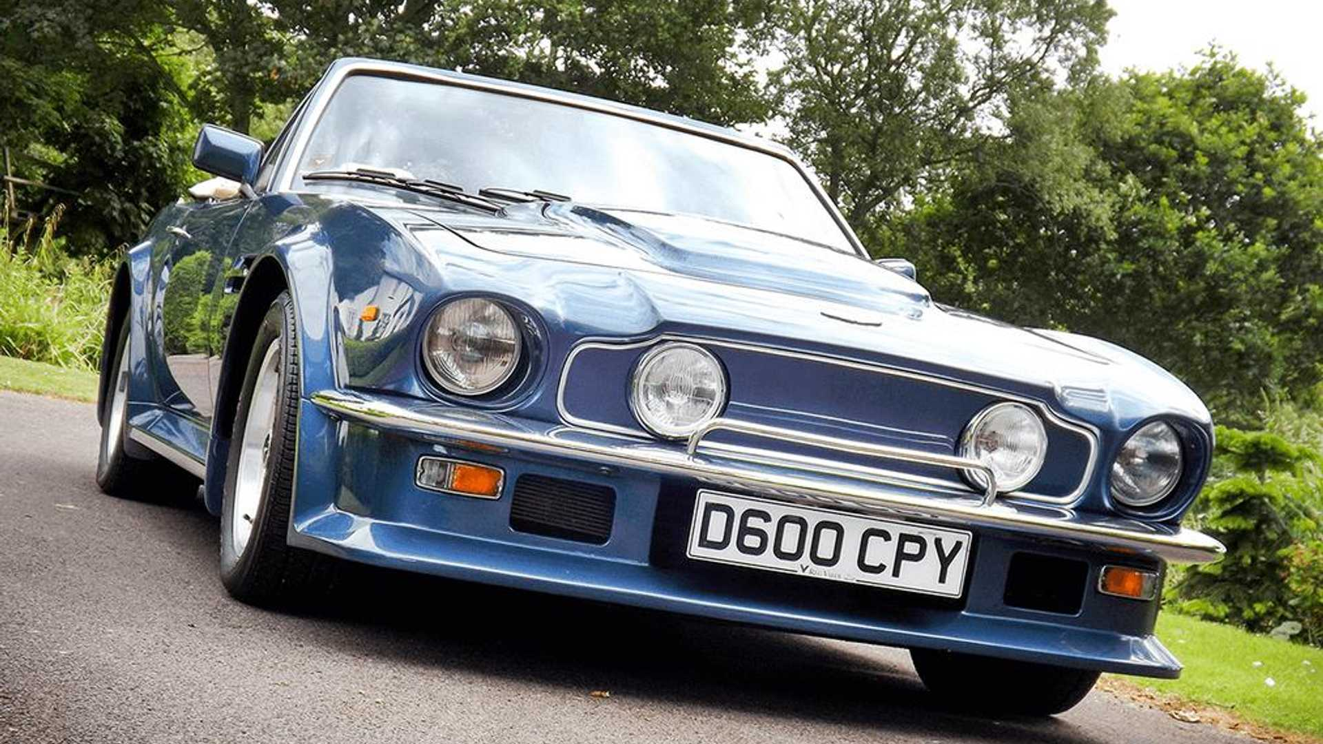 Rare Aston Martin V8 Vantage Volante X Pack Up For Grabs Autoclassics Com Photos