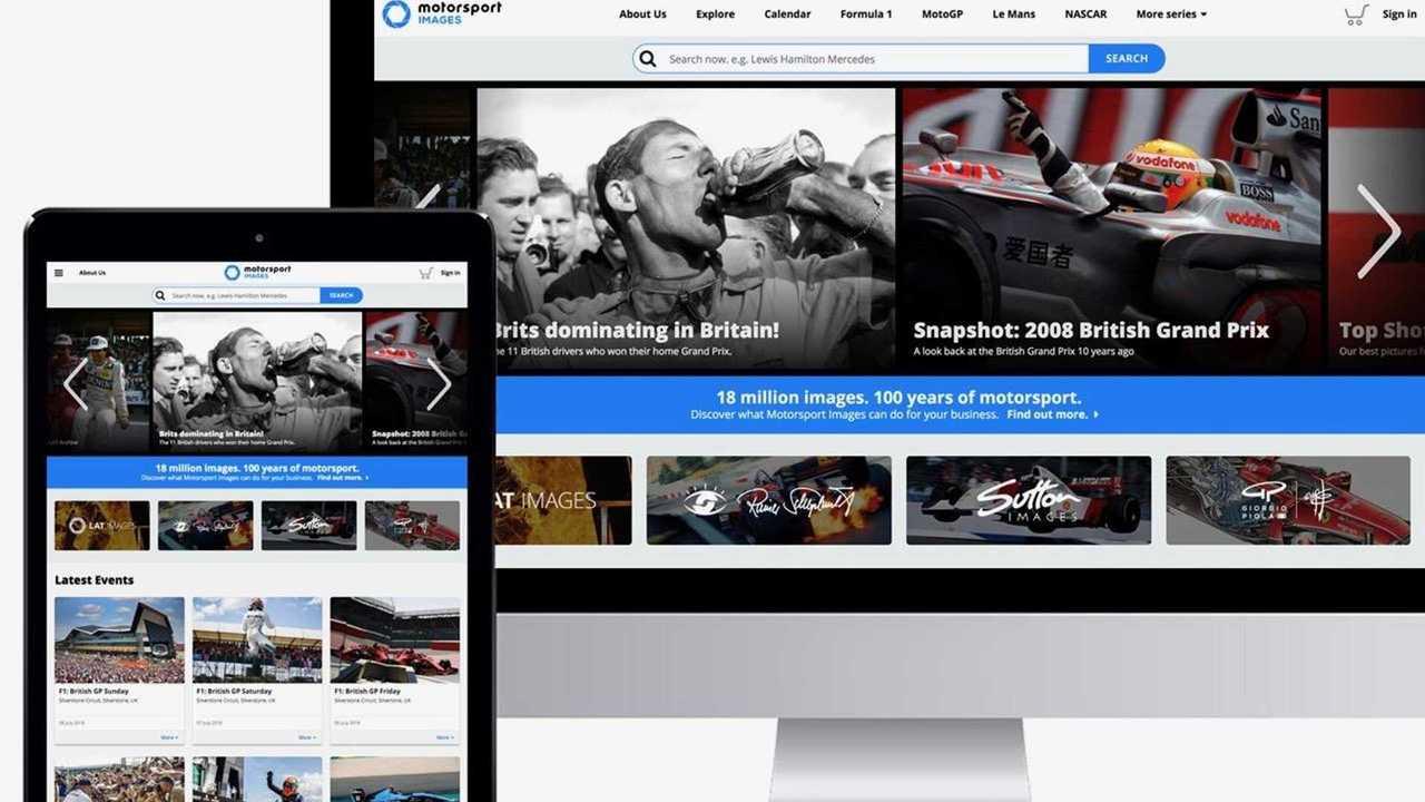 Motorsport Images presents over 23 million snapshots of history