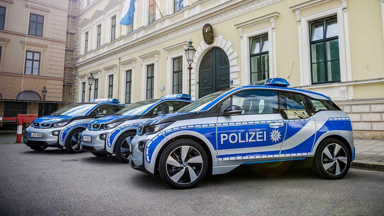 Polizeiautos in Deutschland: BMW i3