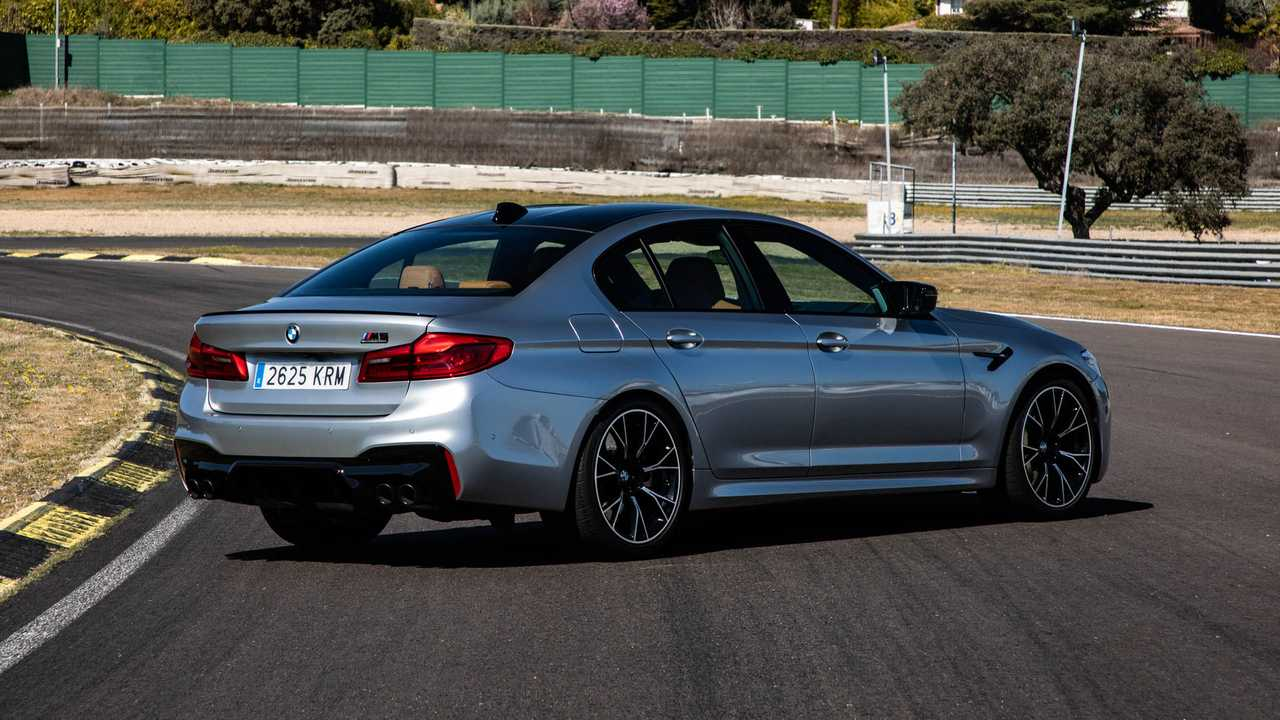 Prueba BMW M5 Competition 2019