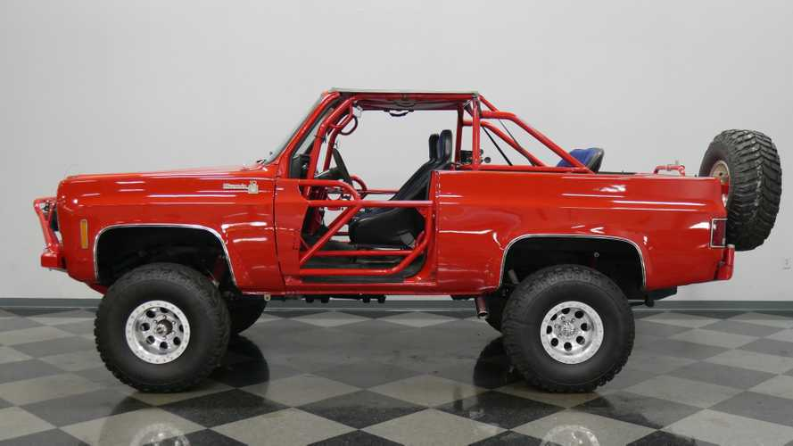 Tackle Any Terrain In This Built 1973 Chevrolet K5 Blazer