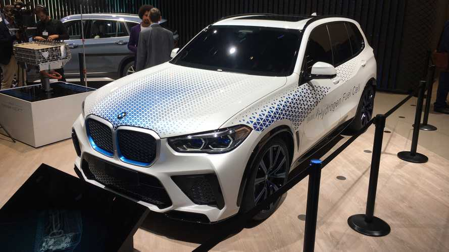 BMW i Hydrogen NEXT concept at the 2019 Frankfurt Motor Show