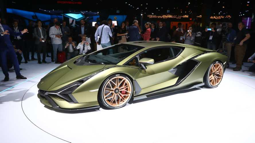 Lamborghini says it's basically done with attending major auto shows