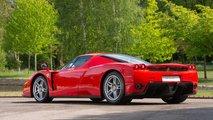 Ferrari Enzo conducido por Schumacher, a la venta