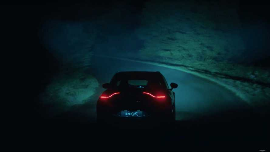 Aston Martin DBX Lights Up The Night In New Teaser