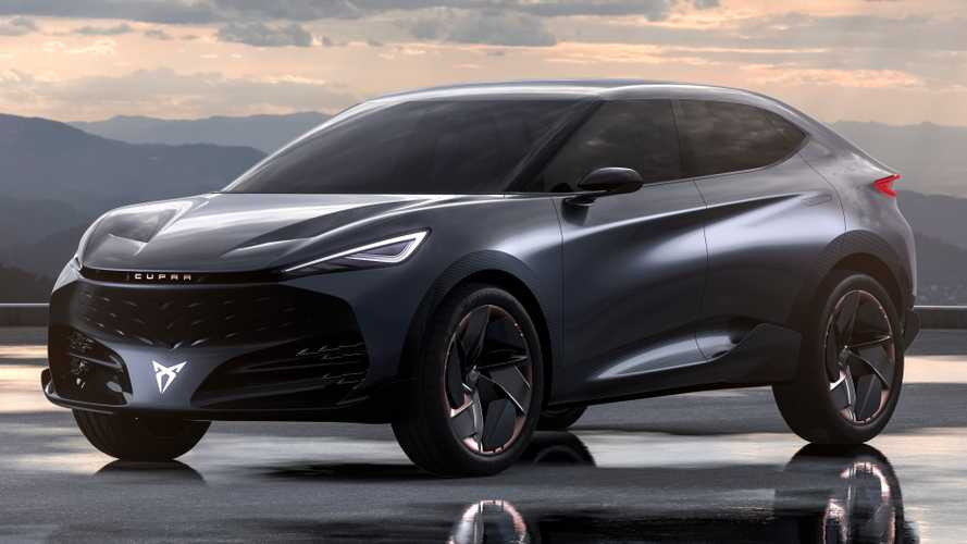Cupra Tavascan Concept previews brand's performance electric future