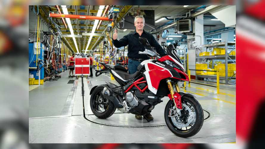 Ducati Sells Its 100,000th Multistrada