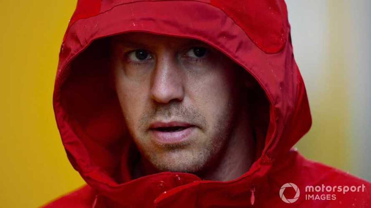 Sebastian Vettel at Italian GP 2019
