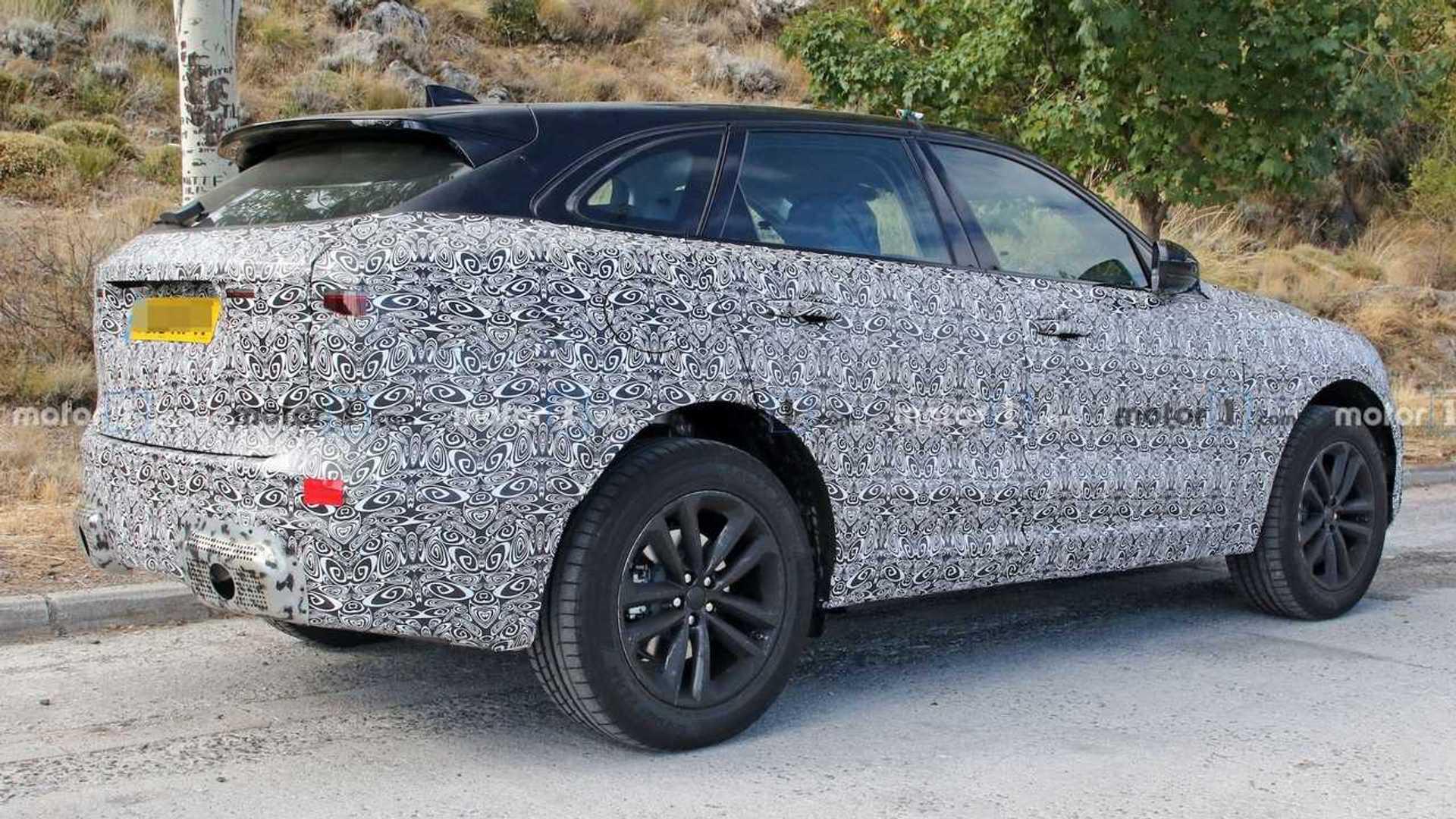 2020 Jaguar F-Pace Facelift 10