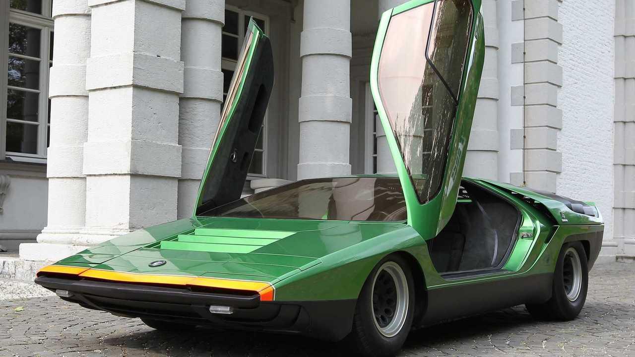 1968 écrevisses concept Alfa Romeo