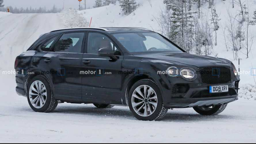 Bentley Bentayga facelift spied resting with sneaky camouflage