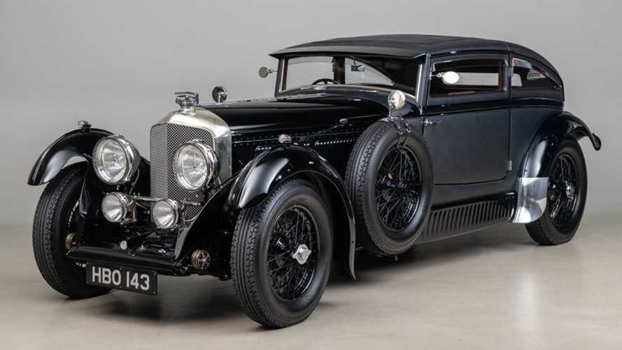 """Drop Jaws With This Dramatic 1953 Bentley """"Blue Train"""" Recreation"""