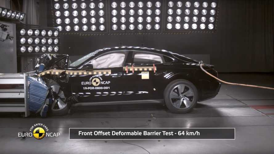 Porsche Taycan Gets 5-Star Euro NCAP Safety Rating: Videos