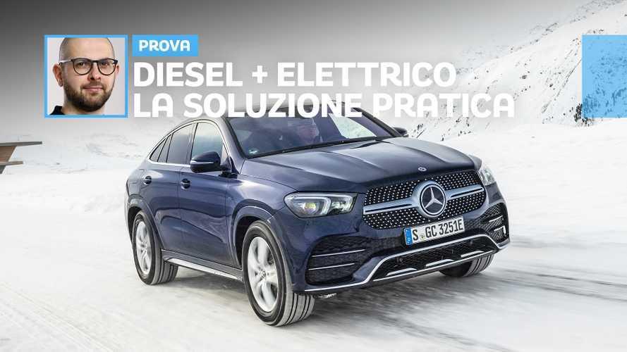 Nuova Mercedes GLE Coupé: la prova del diesel plug-in più pratico che c'è