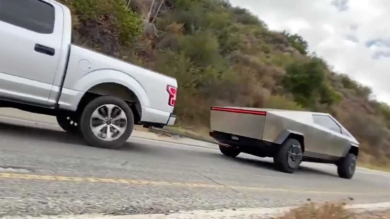 Ford F-150 Tesla Cybertruck