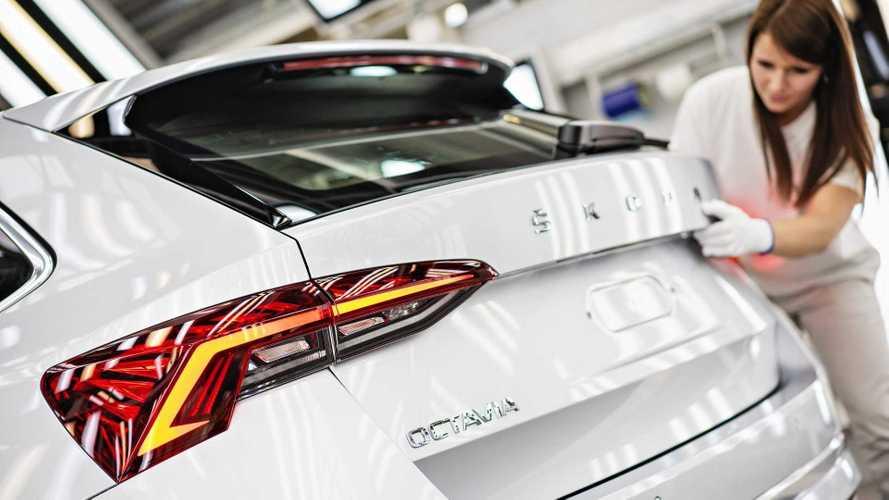 Beindult az új Skoda Octavia sorozatgyártása