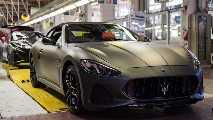 Maserati Stops Production As FCA Closes Nearly All European Plants