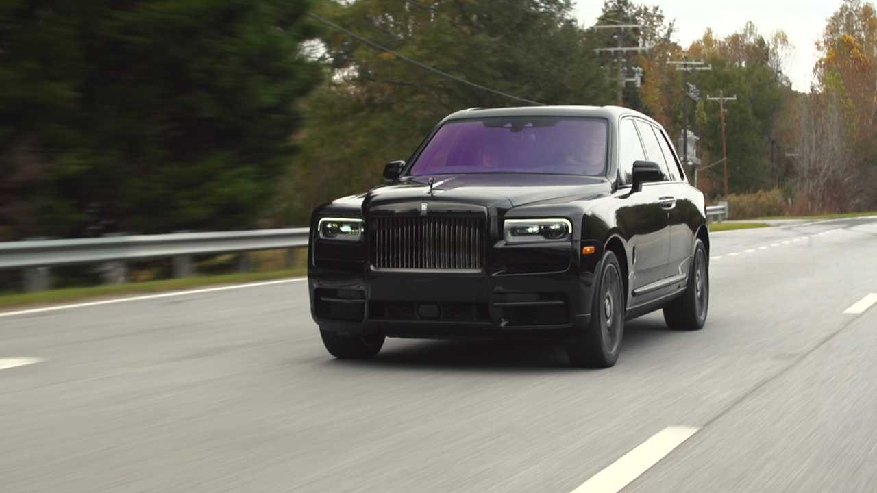 2020 Rolls Royce Cullinan Black Badge First Drive Dark Horse