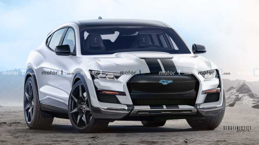Ford Mustang Mach-E Shelb-E Renderings Predict The Inevitable