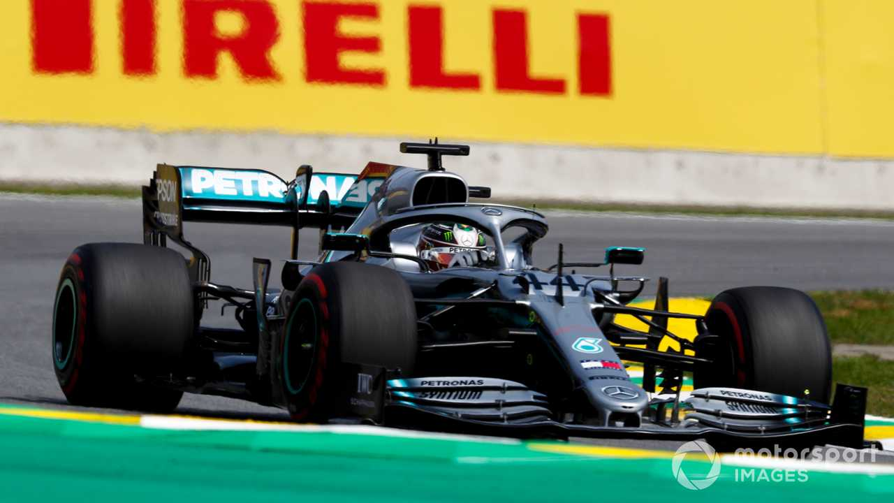 Lewis Hamilton at Brazilian GP 2019