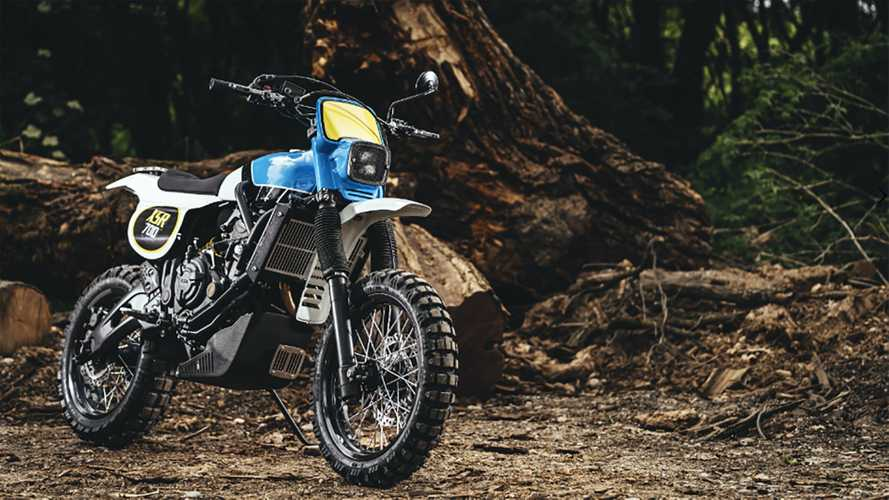 Yamaha Yard Built Project Turns The XSR700 Into A Retro Dirtbike