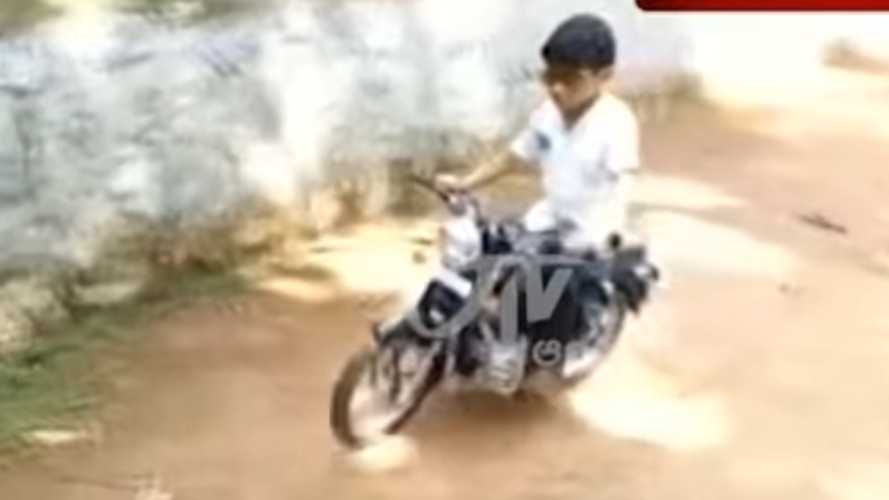 Best Dad Ever Builds Royal Enfield Bullet Replica For Son