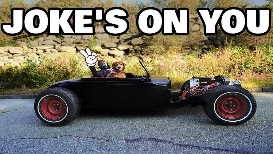 Rich Rebuilds' Electric Rat Rod Is Finally Ready: Check It Out Here