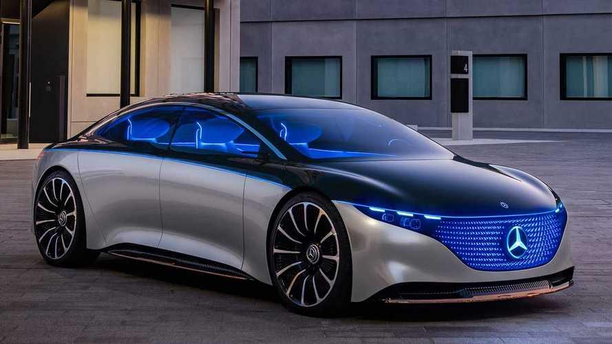 Mercedes-Benz Vision EQS 2019, el Clase S del futuro