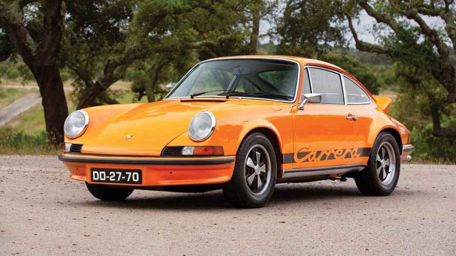 Une Porsche 911 Carrera RS estimée à un demi-million d'euros