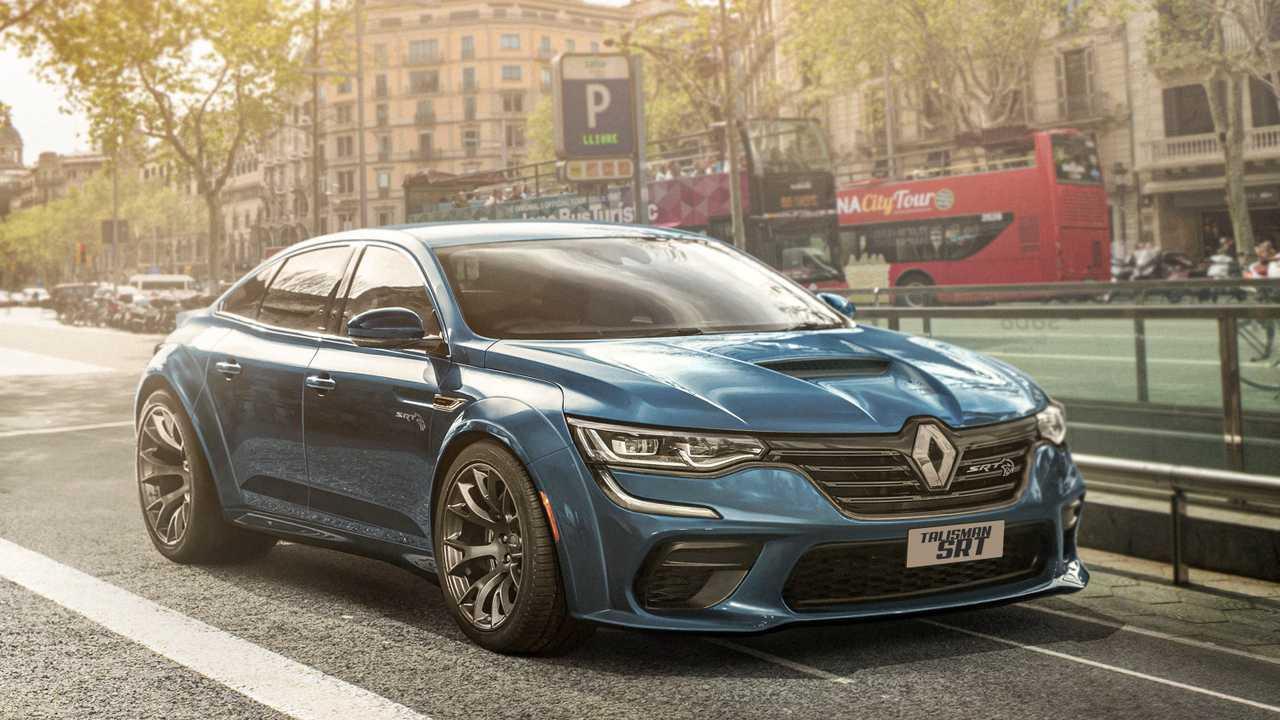 Renault Talisman SRT rendering
