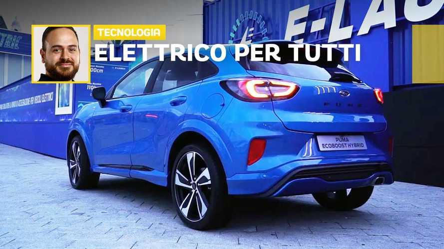 Ford Go Electric, preludio di auto elettrica al Festival della Scienza