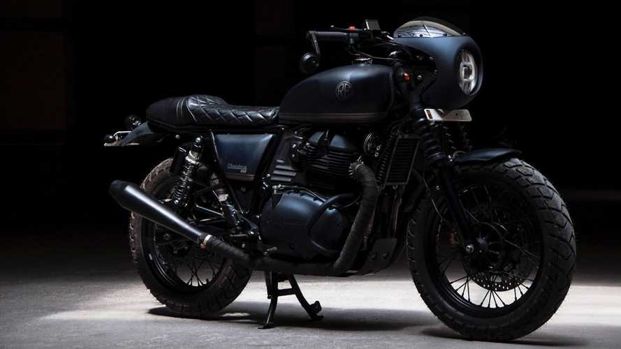 This Custom Royal Enfield Interceptor Is A Stealth Bomber