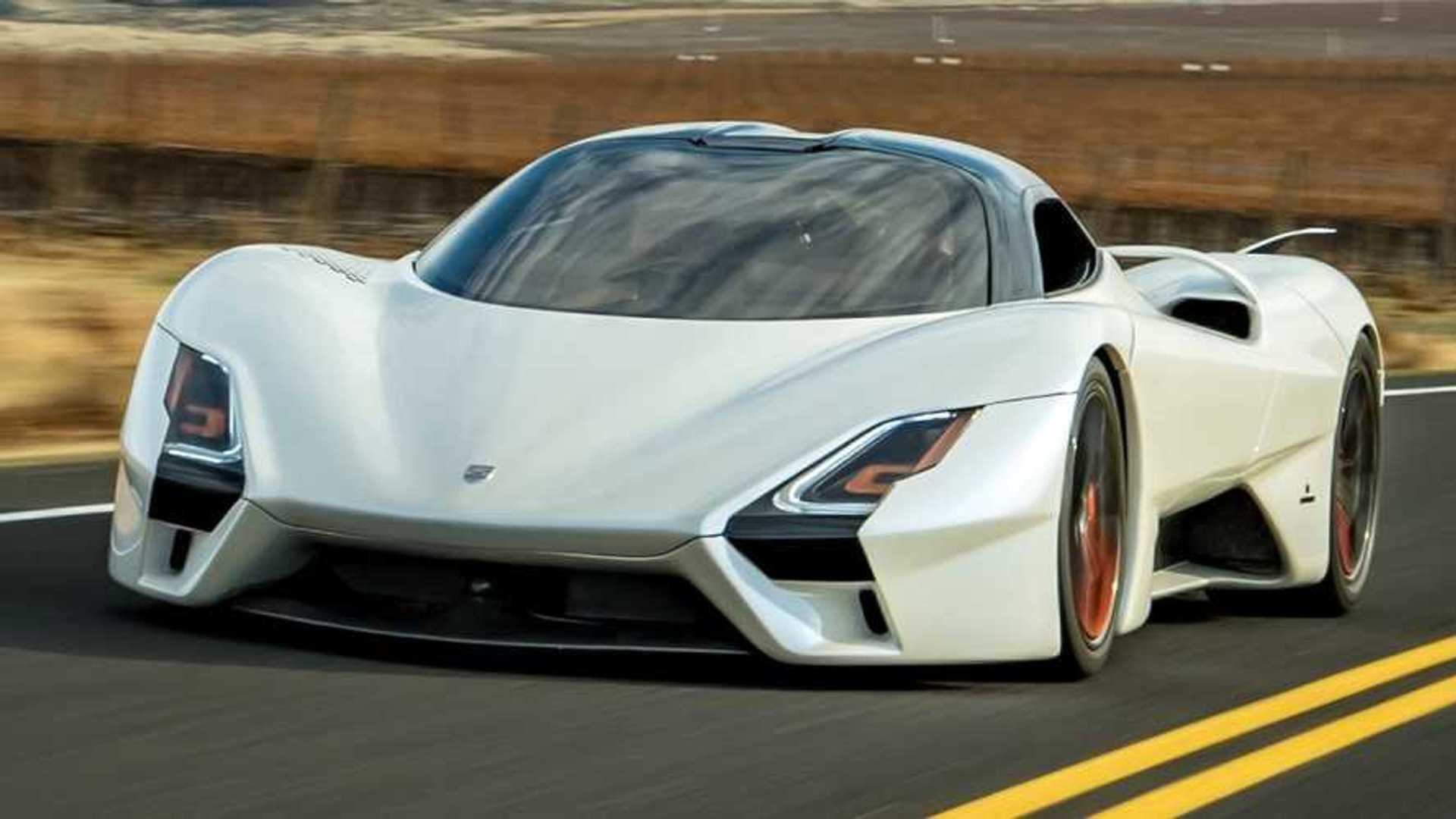 Fastest production car 2020