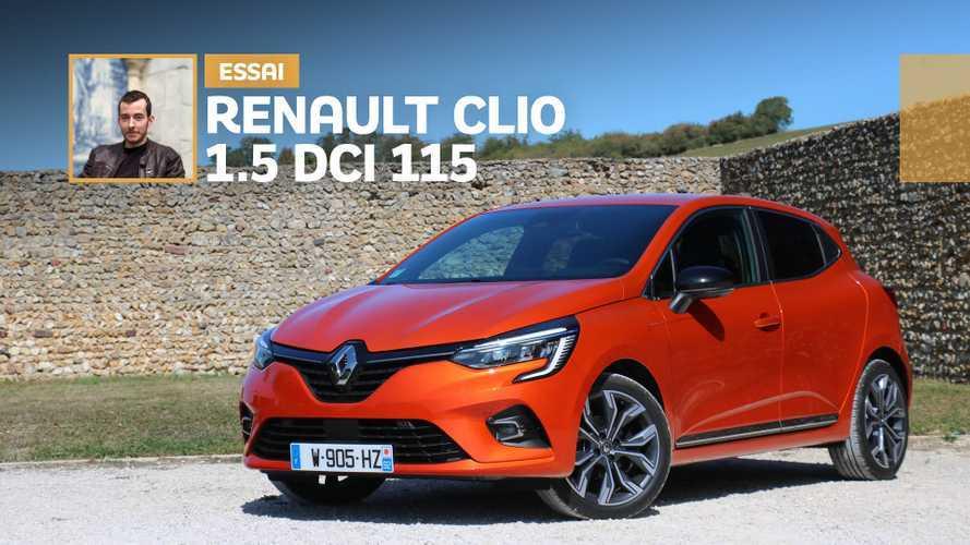 Essai Renault Clio 1.5 dCi 115 ch – Jetez-y quand même un coup d'œil