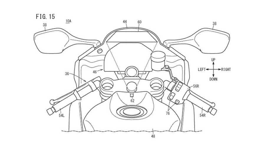 Patent Honda HUD