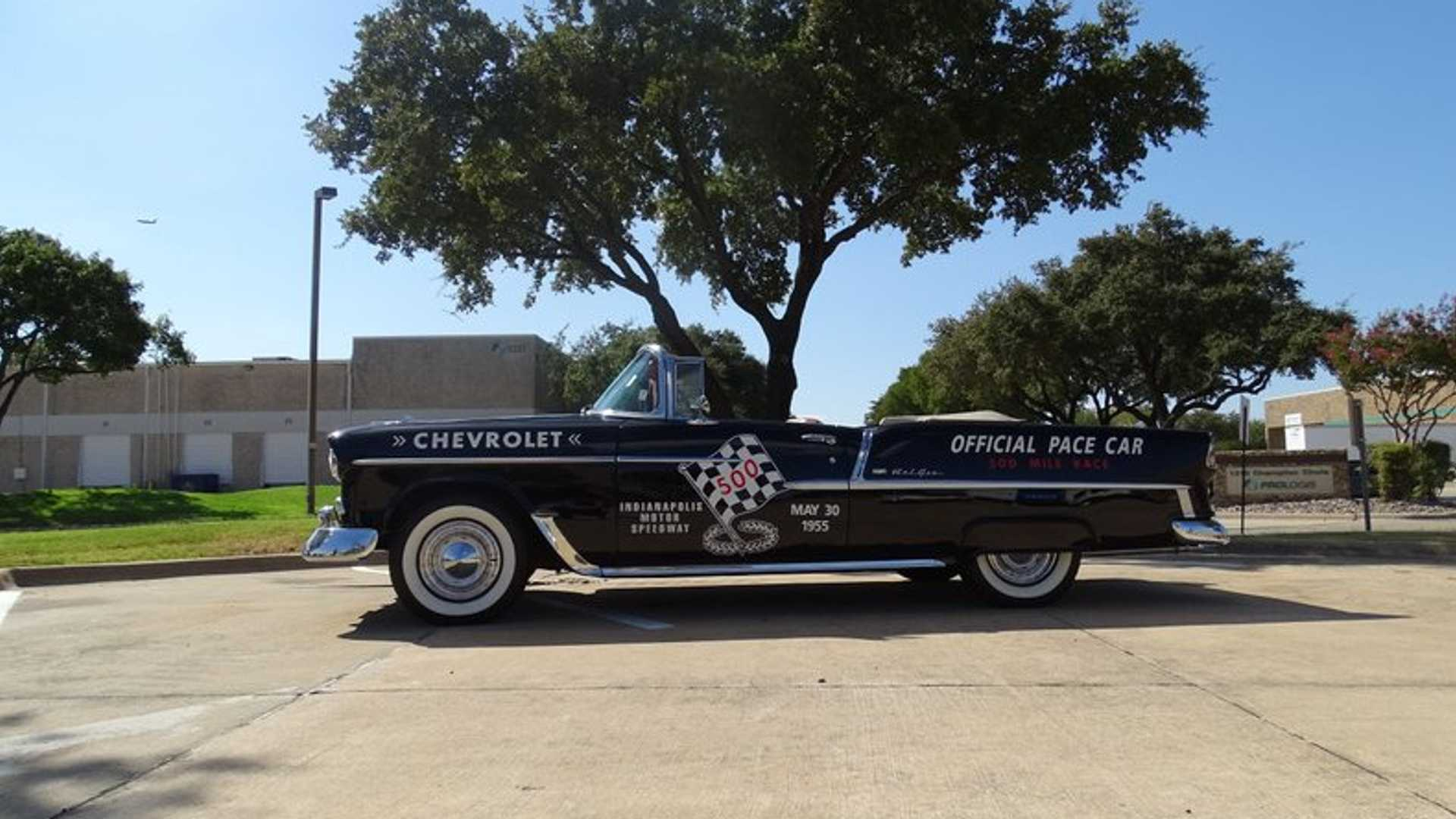 "[""1955 Chevrolet Bel Air Pace Car Tribute Up For Grabs""]"