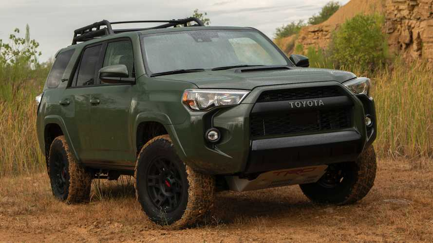 2020 Toyota 4Runner TRD Pro: Comparison