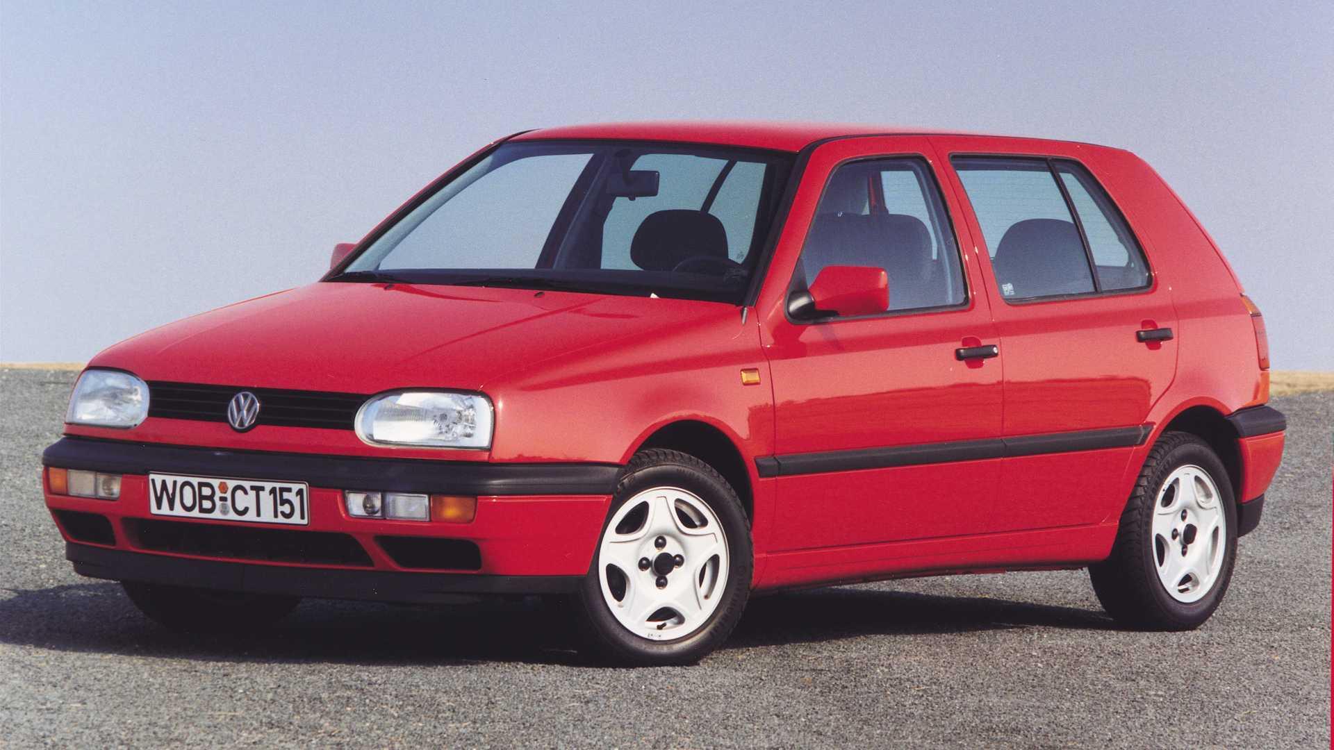 VW Golf im Rückblick: Der Golf III (1991 - 1997)
