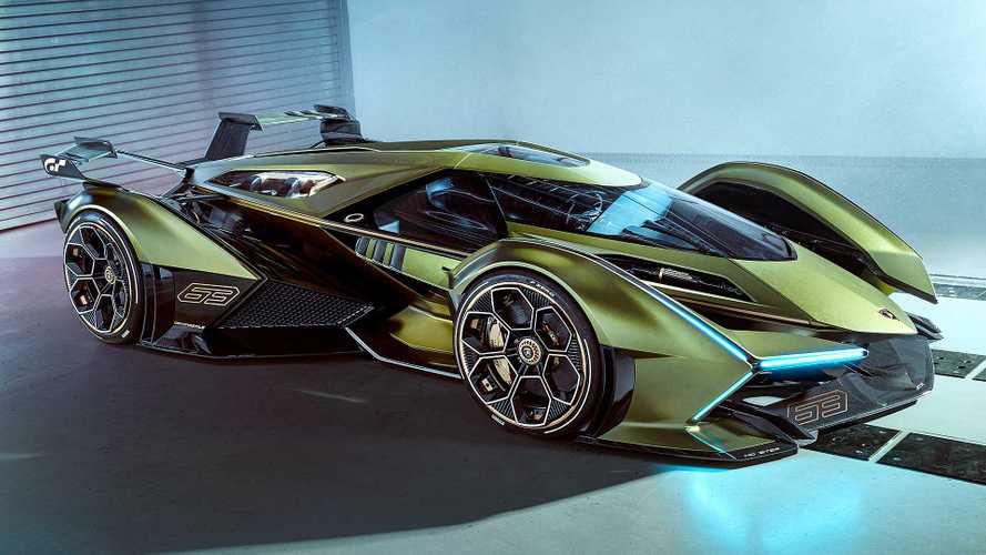 Lambo V12 Vision Gran Turismo - Une hybride complètement délirante