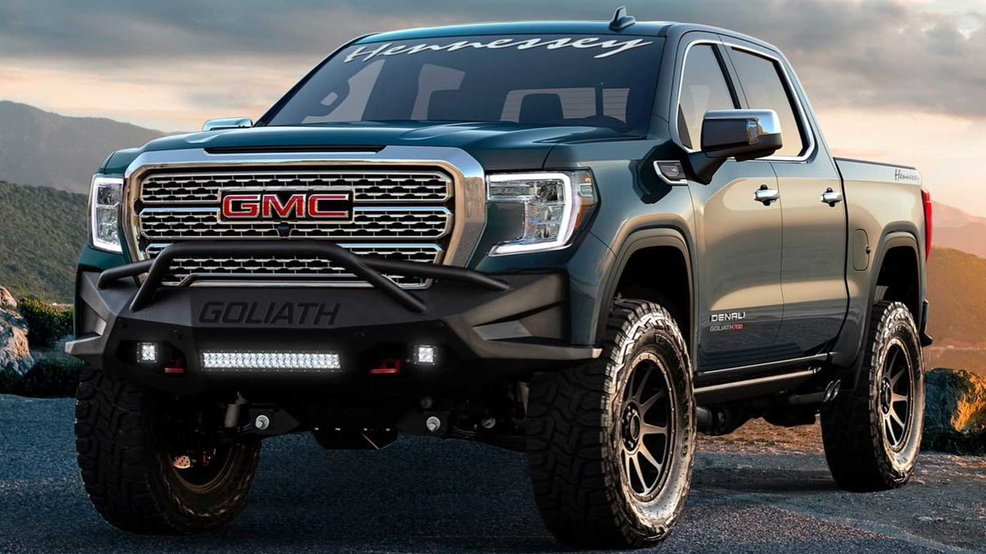 700-HP Hennessey Goliath Trucks Available With Warranty At GM Dealers