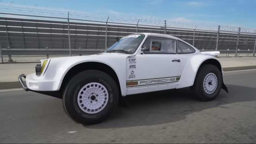 Baja Prerunner Porsche 911 looks bonkers and it's somehow road-legal
