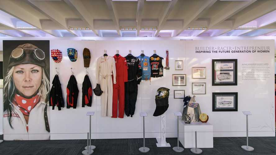 A Look Inside The Petersen Museum's Jessi Combs Exhibit
