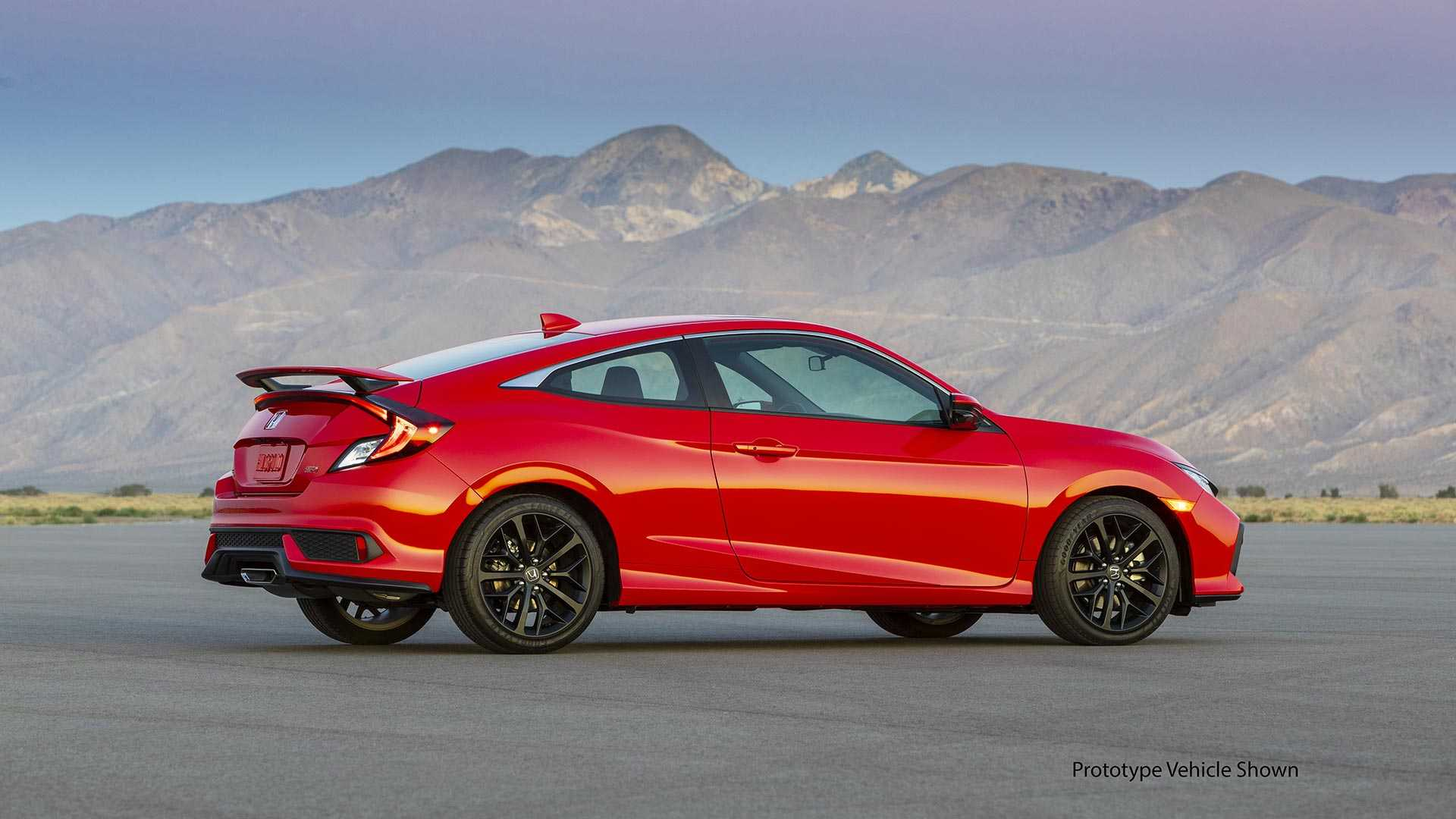 2020 Honda Civic Si Debuts With Fresh Face Quicker Acceleration